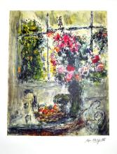 MARC CHAGALL (After) Fruit and Flowers Print, 466 of 500