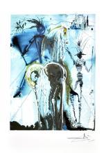 SALVADOR DALI (After) Don Quiochette Print, I408 of 500