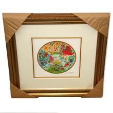 Chagall (After) 'Paris Opera Ceiling' Framed Giclee-Ltd Edn