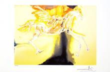 SALVADOR DALI (After) Pegasus Print, I433 of 500