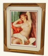 Renoir (After) -Limited Edition Numbered Museum Framed-Numbered