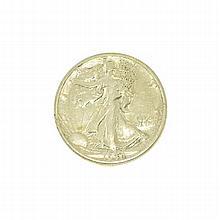 1934-S Liberty Walking Half Dollar Coin