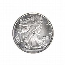 1/10 oz .999 Walking Liberty Silver Roud Coin