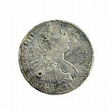 1801 Eight Reales American First Silver Dollar Coin