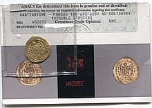 *Byzantine Phocas ANACS Unc Coin (JG phocaswgz052)