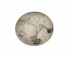 1874-S Arrows At Date Liberty Seated Half Dollar Coin