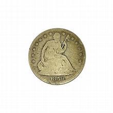 1859-0 Liberty Seated Half Dollar Coin