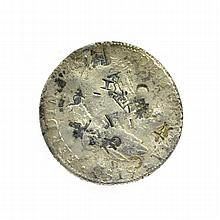 1795 Eight Reales American First Silver Dollar Coin