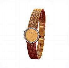 *14k Solid Gold Baume & Mercier Quartz Dress Watch