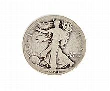 1921 Liberty Walking Half Dollar Coin