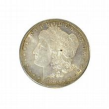 1890-S Morgan Dollar Coin