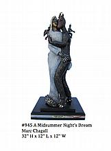 Extremely Rare One of a Kind Marc Chagall ''''A Midsummer Night's Dream'''' Reissue