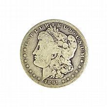 1891-O Morgan Dollar Coin