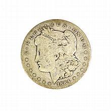 1884 Morgan Dollar Coin