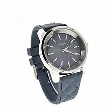 New Onyk, Stainless Steel Back, Water Resistant, Rubber Strap, Ladies Watch