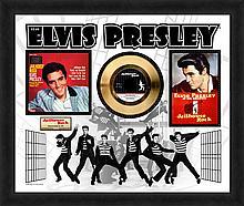 ELVIS PRESLEY ''Jailhouse Rock'' Gold 45 RPM