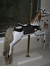 1920's Antique Carousel Horse-Fully Restored - Pick Up Only -P-