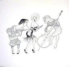 Some Like It Hot - Al Hirschfeld
