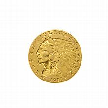 1911 $2.5 U.S. Indian Head Gold Coin