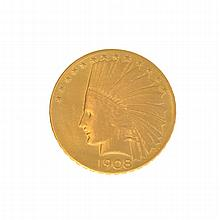1908 $10 U.S. Indian Head Gold Coin