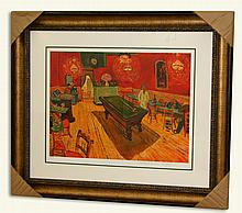 Van Gogh (After) -Limited Edition Museum Framed Print-Numbered