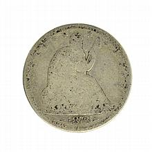 1873 Arrows At Date Liberty Seated Half Dollar Coin
