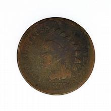 1877 Inidian Cent Coin