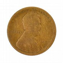1909-S VDB One Cent Coin