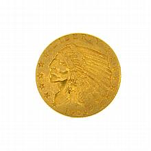 1909 U.S. $2.5 Indian Head Gold Coin