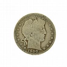 1900-O Barber Head Half Dollar Coin