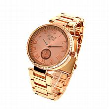 New Michael Kors Style, Ethan Elite Stainless Steel Back, Water Resistant Ladies Watch