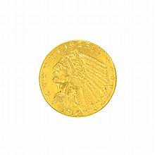 1914-D $2.5 U.S. Indian Head Gold Coin