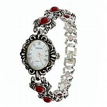 Exquisite Ladies Solid Sterling Silver Watch