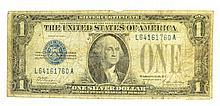 1928-A $1 U.S. Funny Back Silver Certificate