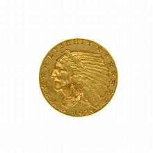 1929 $2.50 U.S. Indian Head Gold Coin