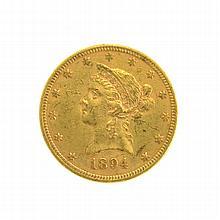 1894 $10 U.S. Liberty Head Gold Coin