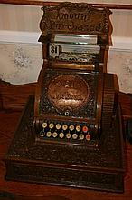 Extremely Rare Early Fancy Cash Register-Mint Condition -P-NR-