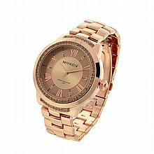 New Michael Kors Style, Miykon Stainless Steel Back, Water Resistant Ladies Watch
