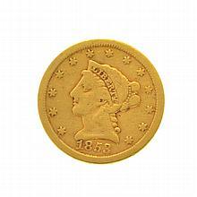 1853 $2.50 U.S. Liberty Head Gold Coin