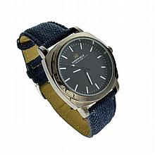 Sheffield Watch With Blue Leather Band