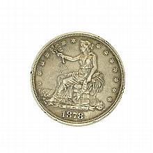 1878-S Trade Dollar Coin
