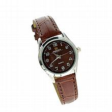 Sheffield Quartz Ladies Watch With Brown Band