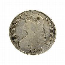 1821 Capped Bust Half Dollar Coin