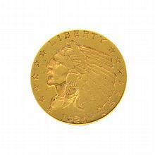 1925-D $2.50 U.S. Indian Head Gold Coin