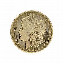 1891-CC Morgan Dollar Coin