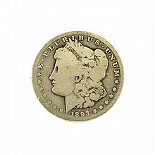 1893-CC Morgan Dollar Coin