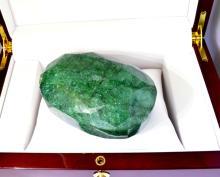 APP: 15.3k 2189.00CT Oval Cut Green Beryl Emerald Gemstone