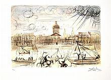 SALVADOR DALI (After) Academy Of France Print, I84 of 500