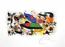 JOAN MIRO (After) Sculpture II Print, 171 of 500