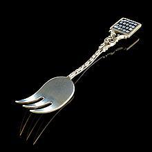 Sterling Silver Baby Fork